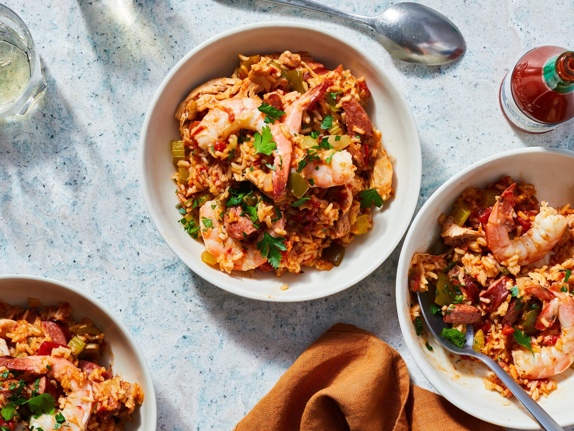 Easy Slow-Cooker Jambalaya Recipe | MyRecipes