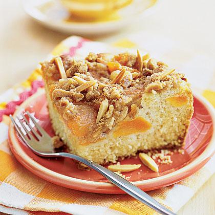 Apricot-Almond Coffee CakeRecipe