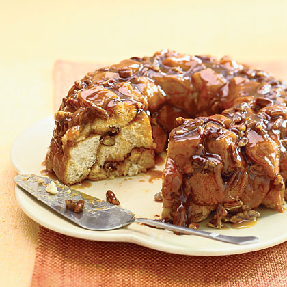 Caramel Pecan Monkey Bread Recipe Myrecipes
