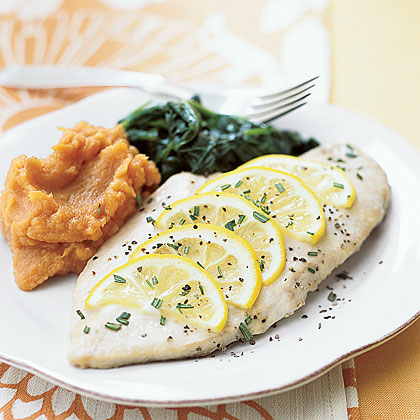 Honey-and-Lemon Baked Chicken Recipe