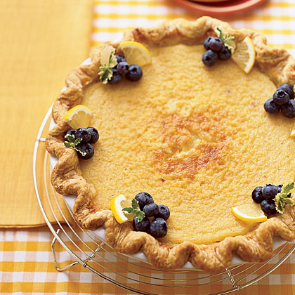Lemon Buttermilk PieRecipe
