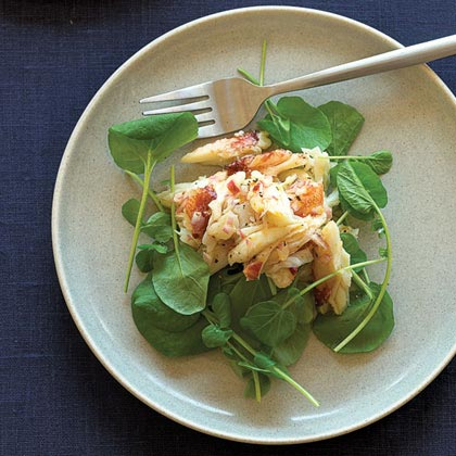 Meyer Lemon-Crab Salad