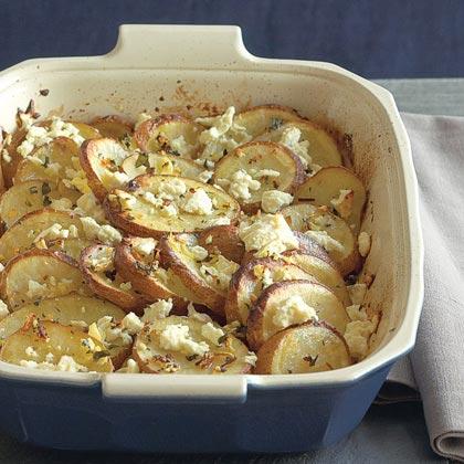 Greek-style Lemon Potatoes