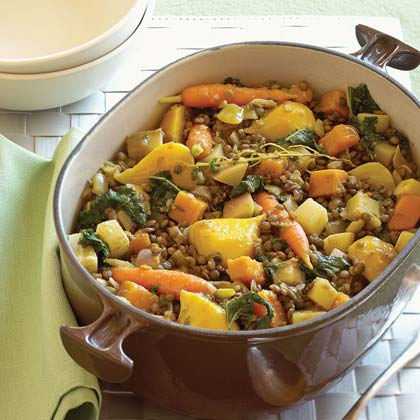 Lentil Stew with Winter Vegetables Recipe MyRecipes