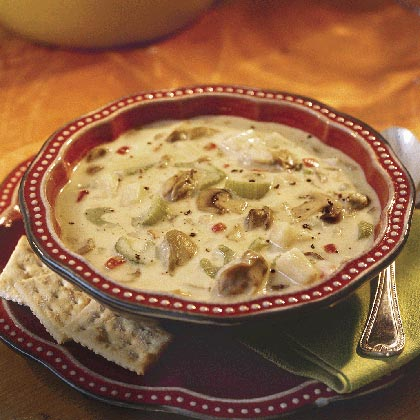 Golden Oyster Stew Recipe Myrecipes