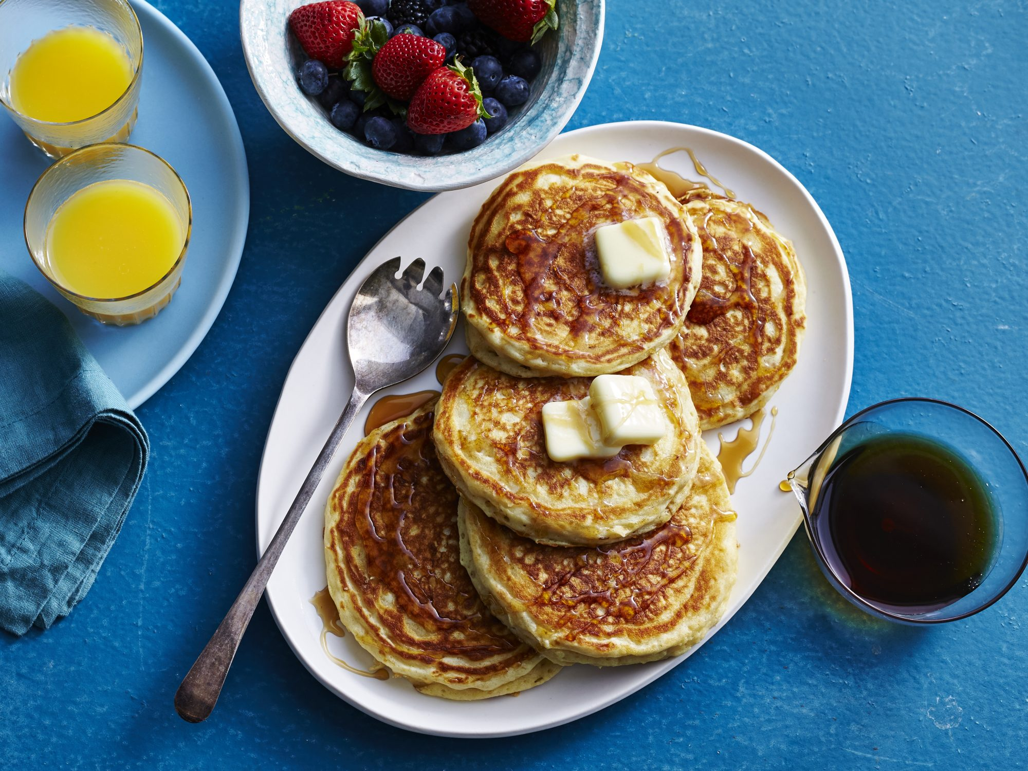 <p>Basic Buttermilk Pancakes</p>