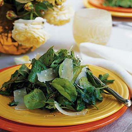 Arugula and Shaved Parmesan Salad Recipe | MyRecipes.com