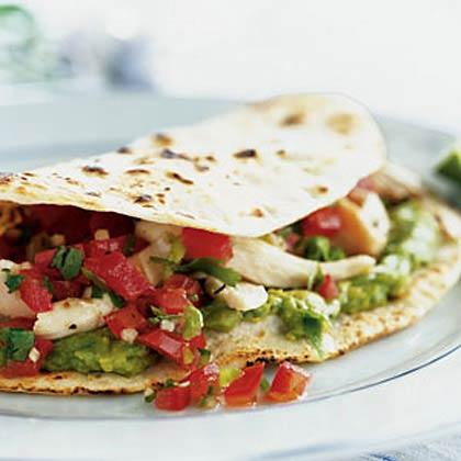 Spicy Backyard Barbecue Chicken Fajitas Recipe