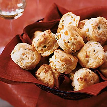 Cheddar-Jalapeño Biscuits