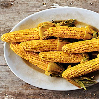 Chili Lime Grilled Corn Recipe