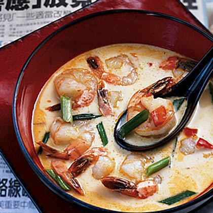 Shrimp Coconut Soup