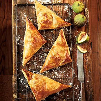 Fresh Fig and Grape Turnovers Recipe