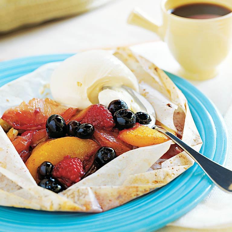 Fruit en Papillote Recipe