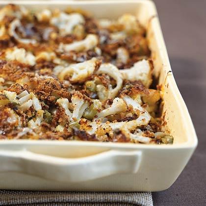 Cauliflower and Fennel GratinRecipe