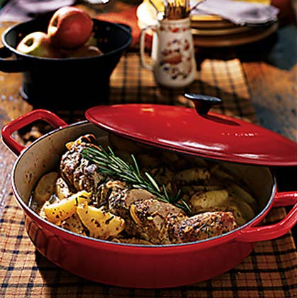 Rosemary Pork Tenderloin with Harvest Apples