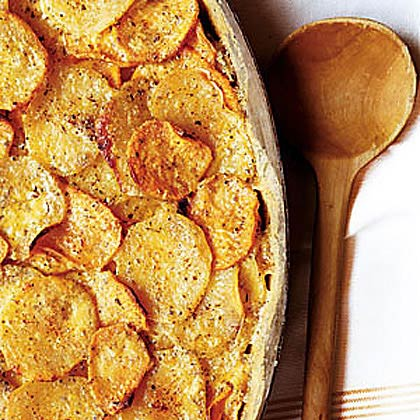 Two-Potato Gratin