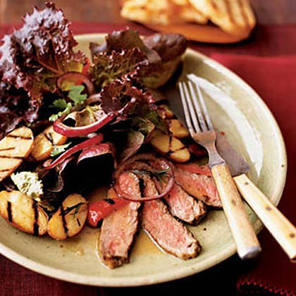 Grilled Steak and Potato Salad Recipe