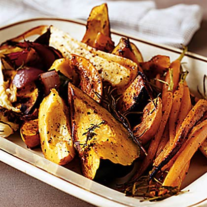 Big Platter of Roasted Vegetables Recipe