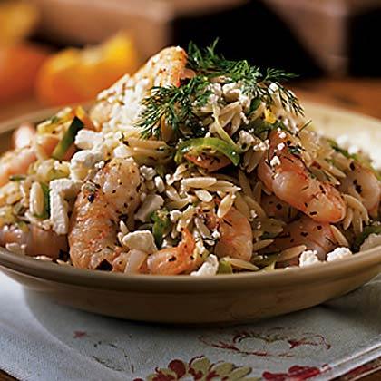 Shrimp and Fresh Herb Orzo