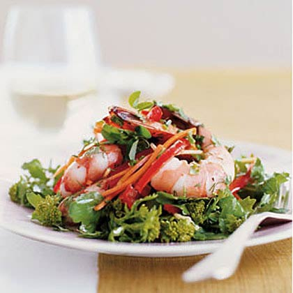 Shrimp Salad with Lemon-Herb Vinaigrette