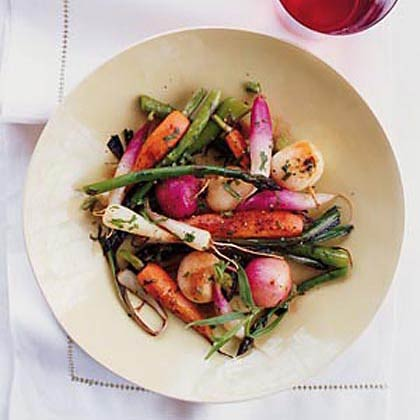 Braised Spring Vegetables Recipe