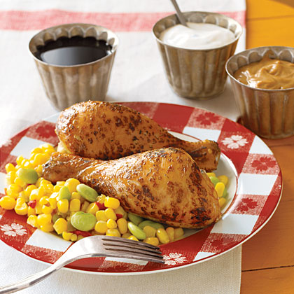 Easy Broiled Drumsticks Recipe | MyRecipes.com