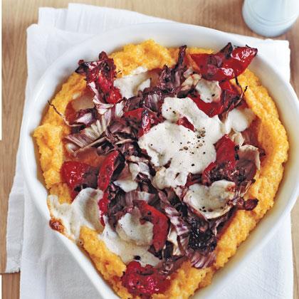 Deep-Dish Polenta Pizza