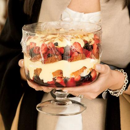 Angelic Berry Trifle