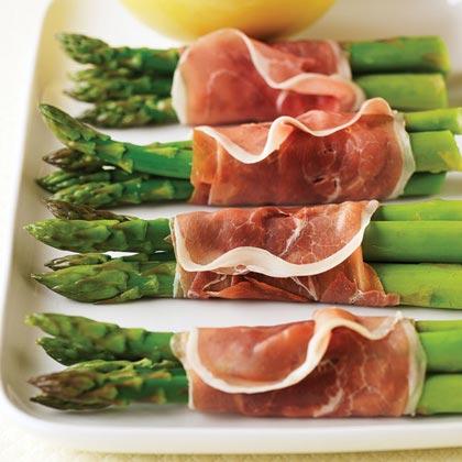 Prosciutto-wrapped AsparagusRecipe