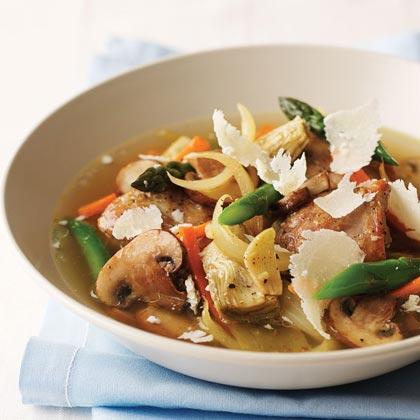 Spring Vegetable-Chicken Ragout