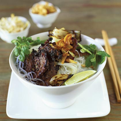 Grilled Beef with Lemon Grass and Garlic (Bo Nuong Xa Toi) Recipe