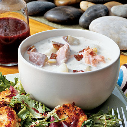 Salmon Chowder Recipe - 0 | MyRecipes