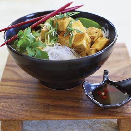 Sautéed Tofu (Dau Hu Xao Dau Hao)Recipe