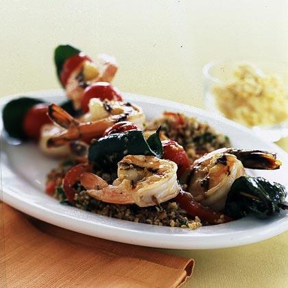 Grilled Shrimp Kebabs Recipe