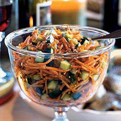 Carrot and Cucumber Salad Recipe