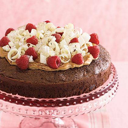 Fudgy Chocolate Tiramisu Cake