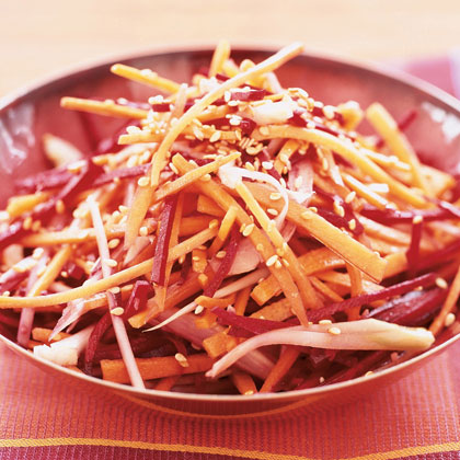 Beet, Carrot, and Fennel Slaw