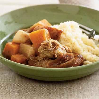 Chicken and Rutabaga Stew Recipe | MyRecipes.com