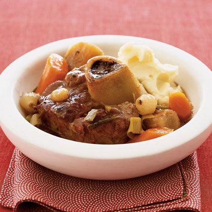 Slow-Cooked Veal with Winter VegetablesRecipe