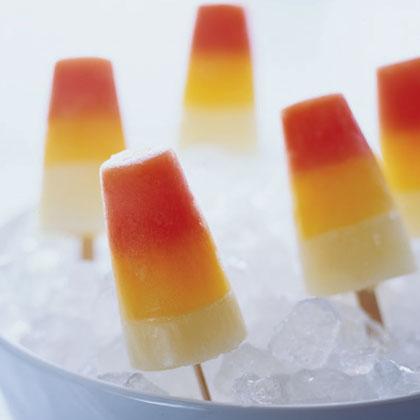 Triple-decker Citrus Popsicles