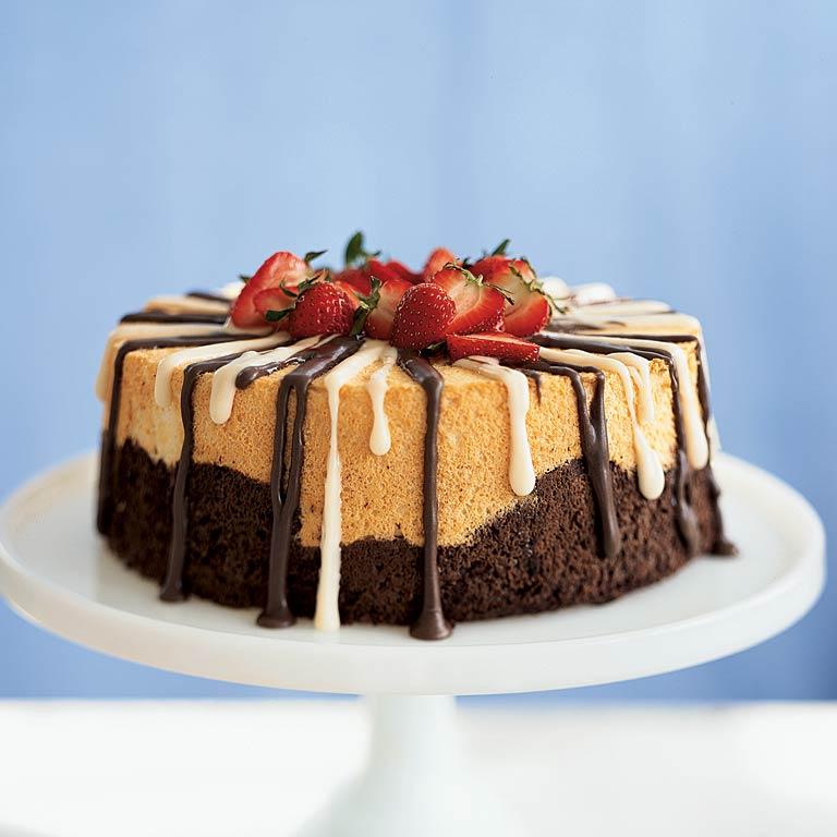 Easy dessert recipes chocolate angel cake