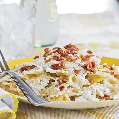 Butterfly pasta recipe
