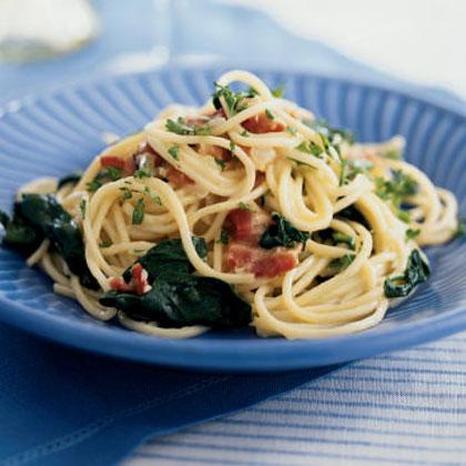 Pasta Carbonara FlorentineRecipe