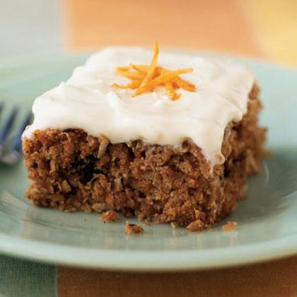 Recipe for easy carrot cake