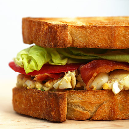 <p>Egg Salad BLTs</p>