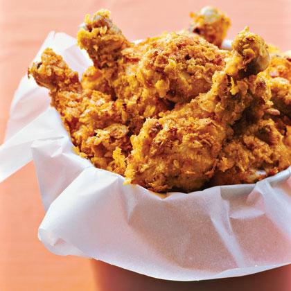 Crispy Oven-fried Drumsticks