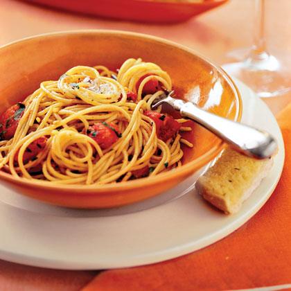 Garlic-Herb PastaRecipe