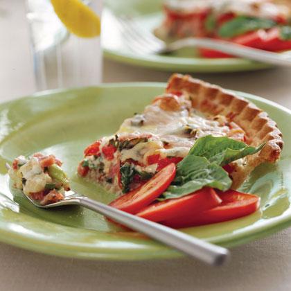 Ham-and-Tomato Pie Recipe