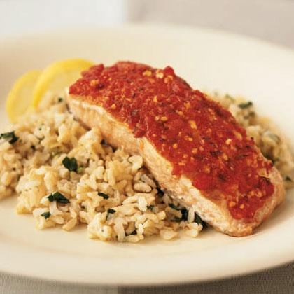 Harissa Salmon