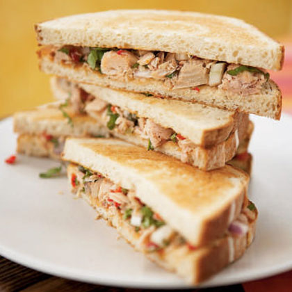 <p>Tuscan Tuna Sandwiches</p>